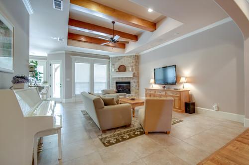 7708 Shadow Wood Drive Living Room