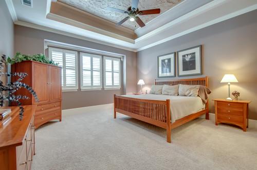 7708 Shadow Wood Drive Master Bedroom