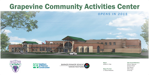 Grapevine Recreation Center to Get a $30.1MFacelift